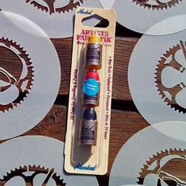 Pack de 3 mini sticks de peinture Markal