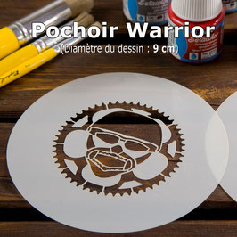 "Pochoir ""Warrior"""