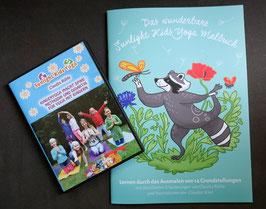 """Set: DVD und Malbuch - DVD """"Kinderyoga macht Spaß"""" - 28 € inklusive Versand innerhalb Deutschlands, bei Portoübernahme auch Versand in andere Länder möglich"""