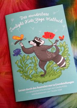 Kinderyoga Malbuch  - 15 € inklusive Versand innerhalb Deutschlands, bei Portoübernahme auch Versand in andere Länder möglich