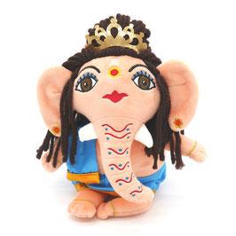 Ganesha Kuschelgott aus Plüsch - pfirsich