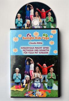 """DVD """"Kinderyoga macht Spaß - Methodik und Didaktik für Yoga mit Kindern"""" (Claudia Rühle)  15 € inklusive Versand innerhalb Deutschlands, bei Portoübernahme auch Versand in andere Länder möglich"""