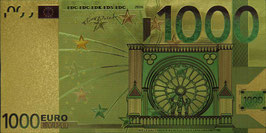 1000 Euro fantasy Banknote