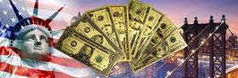 Dollar Banknotes Set