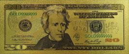 20 Dollar Banknote