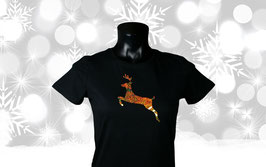 """Springender Hirsch"" T-Shirt Ladies"