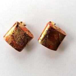 Ohrclips mit Kupfermetallauflage