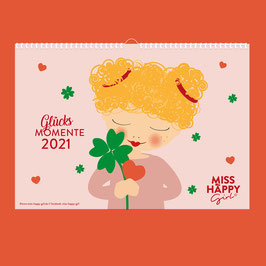 Miss Happy Girl  Kalender 2020