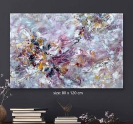 """Alta tensione"" (80x120cm) / HIGH VOLTAGE"