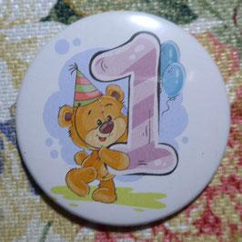 Teddy-Zahlen 1 bis 9, plus 0