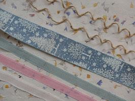 Baumwollband - 1 m - untere drei Reihen