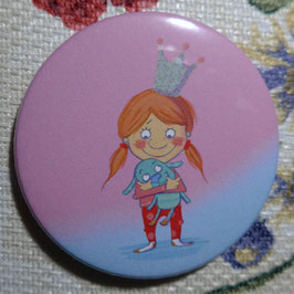 Kleine Prinzessin Rosa - Taschenspiegel