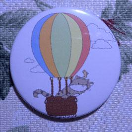 Katze im Heißluftballon