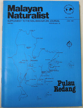 Malayan Naturalist Supplement to the Malayan Nature Journal Vol.34 No.4(1981年6月)