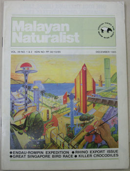 Malayan Naturalist Vol.39 No.1&2(1985年12月)