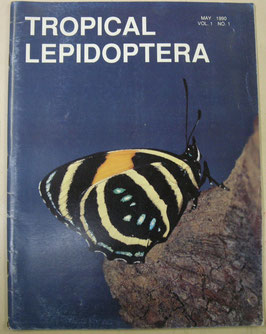 Tropical Lepidoptera Vol.1,No.1 (May 1990)