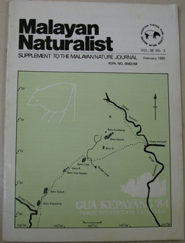 Malayan Naturalist Supplement to the Malayan Nature Journal Vol.38 No.3(1985年2月)