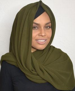 Luxury Hijab kaki