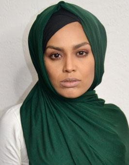 Hijab maxi Jersey emerald