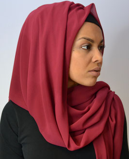 Luxury Hijab Cerise