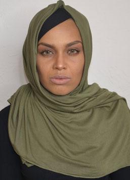 Hijab maxi jersey kaki