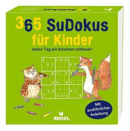 »365 Sudokus für Kinder« - moses. Verlag