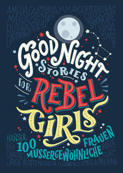 »Good Night Stories for Rebel Girlsl«  —  Hanser Verlag