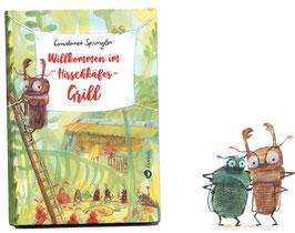 »Willkommen im Hirschkäfer-Grill«  —  Aladin Verlag