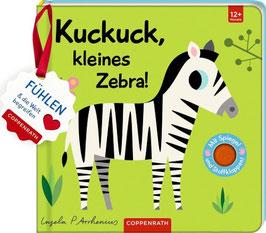 »Mein Filz-Fühlbuch: Kuckuck, kleines Zebra!« - Coppenrath
