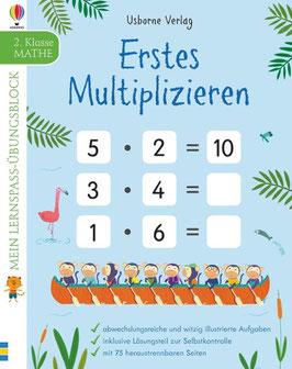 »Mein Lernspaß-Übungsblock: Erstes Multiplizieren« - Usborne Verlag