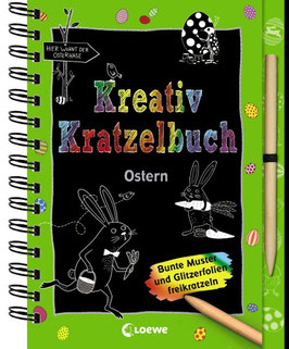 »Kreativ Kratzelbuch - Ostern« - Loewe