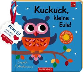»Mein Filz-Fühlbuch: Kuckuck, kleine Eule!« - Coppenrath
