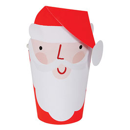 »Red Santa Party Cups«  —  Meri Meri