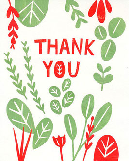 »Thank you« - FRAUKNOPP