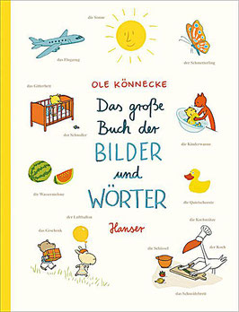 »Das große Buch der Bilder und Wörter«  —  Hanser