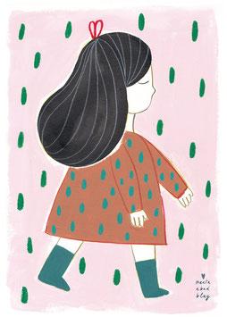 »Kunstdruck Irene«  — 50x70cm  — Marta Abad Blay