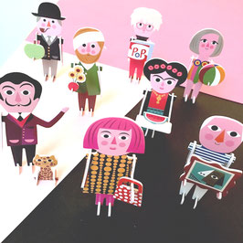 3D Puzzle »Artist Parade« — OMM-Design