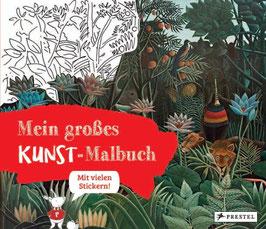»Mein großes Kunst Malbuch« - Prestel