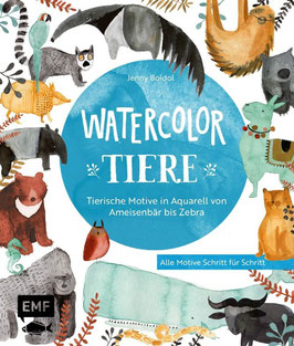 »Watercolor Tiere« - EMF