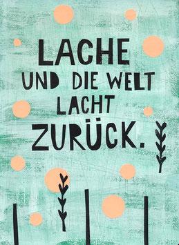 »Lache und die Welt lacht zurück« - FRAUKNOPP