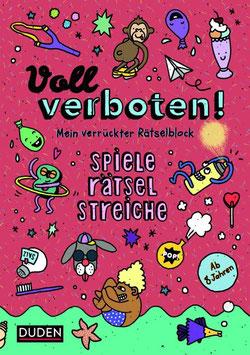 »Voll verboten! Mein verrückter Rätselblock 2« - Bibliograph. Instit. GmbH