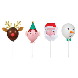 »Christmas Characters Balloon Kit«  —  Meri Meri