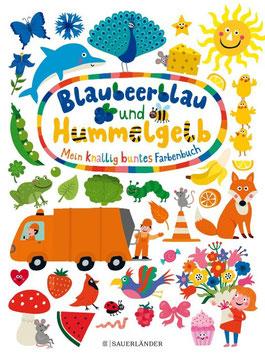 »Blaubeerblau und Hummelgelb - Mein knallig buntes Farbenbuch«  —  Sauerländer