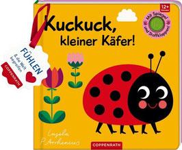 »Mein Filz-Fühlbuch: Kuckuck, kleiner Käfer!« - Coppenrath