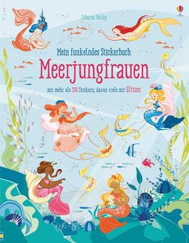 »Mein funkelndes Stickerbuch: Meerjungfrauen« - Usborne