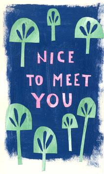 »Nice to meet you« - FRAUKNOPP