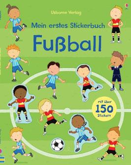»Mein erstes Stickerbuch - Fussball« - Usborne
