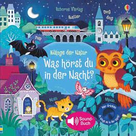 »Klänge der Natur: Was hörst du in der Nacht?«  —  Usborne