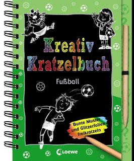 »Kreativ Kratzelbuch - Fussball« - Loewe
