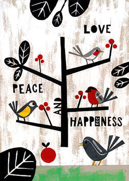 »Love Peace and Happiness« - FRAUKNOPP